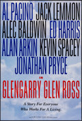 """Movie Posters:Drama, Glengarry Glen Ross (New Line, 1992). One Sheets (2) (27"""" X 40"""" & 27"""" X 41"""") DS 2 Styles. Drama.. ... (Total: 2 Items)"""