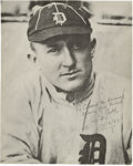 Autographs:Photos, 1949 Ty Cobb Signed Magazine Photograph. While any Cobb signedimage is cause for celebration among Hall of Fame autograph ...