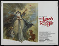 "Movie Posters:Animated, The Lord of the Rings (United Artists, 1978). Half Sheet (22"" X28""). Animated. ..."