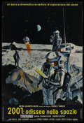 """Movie Posters:Science Fiction, 2001: A Space Odyssey (MGM, 1968). Italian Photobusta (18"""" X 27"""").Science Fiction. ..."""