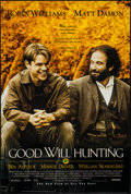 "Movie Posters:Drama, Good Will Hunting (Miramax, 1997). One Sheet (27"" X 40"") DS. Drama.. ..."