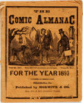 Books:Americana & American History, [Almanac]. The Comic Almanac for the Year 1893. Philadelphia: Morwitz & Co., 1893....