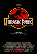 "Movie Posters:Science Fiction, Jurassic Park (Universal, 1993). One Sheet (26.75"" X 39.5"") SSAdvance. Science Fiction.. ..."