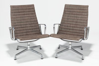 CHARLES EAMES (American, 1907-1978) and RAY KAISER EAMES (American, 1912-1988) Group Boardroom Chair (s
