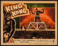 "Movie Posters:Horror, King Kong (RKO, R-1956). Lobby Card (11"" X 14""). Horror.. ..."