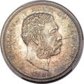 Coins of Hawaii, 1883 50C Hawaii Half Dollar MS66 PCGS. CAC....