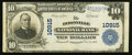 National Bank Notes:Missouri, Boonville, MO - $10 1902 Plain Back Fr. 632 The Boonville NB Ch. #10915. ...