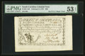 Colonial Notes:South Carolina, South Carolina February 8, 1779 $60 PMG About Uncirculated 53 EPQ.....