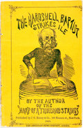 Books:Literature Pre-1900, [William Penn Brannan]. The Hardshell Baptist Strikes Ile.New York: J.C. Haney & Co., 1865. ...