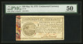 Colonial Notes:Continental Congress Issues, Continental Currency May 10, 1775 $20 PMG About Uncirculated 50.....