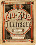 Books:Periodicals, [Periodicals]. First Issue of Tid-Bits Quarterly, Vol. 1,No. 1, August 23, 1884. New York: John W. Lovell Compa...