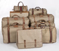 Luxury Accessories:Travel/Trunks, Gucci Set of Nine; Classic Monogram Canvas & Web Stripe TravelBags. ... (Total: 9 Items)