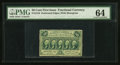 Fractional Currency:First Issue, Fr. 1310 50¢ First Issue PMG Choice Uncirculated 64.. ...