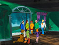 Animation Art:Production Cel, The Scooby-Doo Show/Shake Rattle and Roll Production CelSetup and Background (Hanna-Barbera, 1977-79).... (Total: 6 Items)