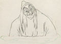 Animation Art:Production Drawing, Snow White and the Seven Dwarfs The Old Hag ProductionDrawing Original Animation Art (Walt Disney, 1937)....
