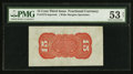 Fractional Currency:Third Issue, Fr. 1273SP 15¢ Third Issue Wide Margin Back PMG About Uncirculated 53 Net.. ...