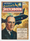 Golden Age (1938-1955):Non-Fiction, Jim Ray's Aviation Sketchbook #1 (Vital Publications, 1946)Condition: FN....