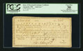 Colonial Notes:Maryland, State of Maryland Exchange Certificate April 8, 1791 PCGS ApparentVery Fine 30.. ...