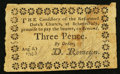 Colonial Notes:New York, Schenectady, NY- Reformed Dutch Church 3 Pence August 8, 1793Harris 13 Fine.. ...