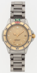 """Luxury Accessories:Accessories, Tag Heuer Stainless Steel 900 Watch. Very Good to Excellent Condition. 6"""" Length. ..."""