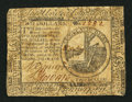 Colonial Notes:Continental Congress Issues, Continental Currency July 22, 1776 $2 Fine.. ...