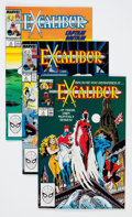 Modern Age (1980-Present):Superhero, Excalibur Short Boxes Group (Marvel, 1980s-90s) Condition: AverageNM-.... (Total: 6 Items)