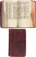 Miscellaneous:Ephemera, Cattle Raisers Association Brand Ledgers for the Year 1916....(Total: 2 Items)