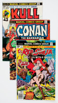 Bronze Age (1970-1979):Adventure, Conan the Barbarian and Related Titles Short Box Group (Marvel, 1972-92) Condition: Average NM....