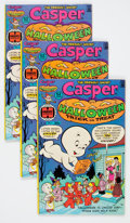 Bronze Age (1970-1979):Cartoon Character, Casper Halloween Trick or Treat #1 File Copy Long Box Group(Harvey, 1976) Condition: Average VF+....