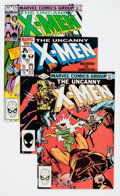 Modern Age (1980-Present):Superhero, X-Men Short Box Group (Marvel, 1981-89) Condition: Average NM....