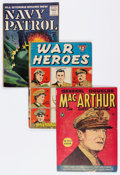 Golden Age (1938-1955):War, Comic Books - Assorted Golden Age War Comics Group (VariousPublishers, 1950s) Condition: Average VG.... (Total: 12 ComicBooks)