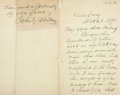Autographs:Authors, John Greenleaf Whittier Autograph Letter Signed. ...