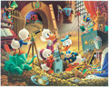 Memorabilia:Disney, Carl Barks An Embarrassment of Riches Limited Edition Litho Print #181/395 (Another Rainbow, 1983).. ... (Total: 2 Items)