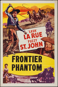 """The Frontier Phantom & Other Lot (Western Adventures Pictures, 1951). One Sheets (2) (27"""" X 41""""). Western..."""
