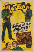 "Movie Posters:Western, Song of the Drifter & Other Lot (Monogram, 1948). One Sheets (2) (27"" X 41""). Western.. ... (Total: 2 Items)"