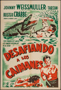 """Movie Posters:Adventure, Swamp Fire (Paramount, 1946). Argentinean Poster (29"""" X 43"""").Adventure.. ..."""