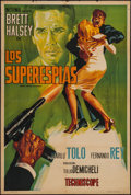 """Movie Posters:Foreign, Espionage in Lisbon (Norma, 1965). Argentinean Poster (29"""" X 43""""). Foreign.. ..."""