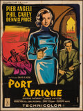 "Movie Posters:Mystery, Port Afrique (Columbia, 1956). French Grande (47"" X 63""). Mystery.. ..."