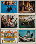 "Movie Posters:Comedy, The Great Race (Warner Brothers, 1965). British Front of House MiniLobby Card Set of 12 (8"" X 10""). Comedy.. ... (Total: 12 Items)"