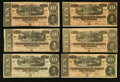 Confederate Notes:1864 Issues, T68 $10 1864 Thirty-six Examples.. ... (Total: 36 notes)