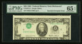 Error Notes:Inverted Third Printings, Fr. 2075-E $20 1985 Federal Reserve Note. PMG Gem Uncirculated 65EPQ.. ...