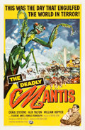 "Movie Posters:Science Fiction, The Deadly Mantis (Universal International, 1957). One Sheet (27"" X41"").. ..."
