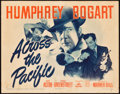 "Movie Posters:War, Across the Pacific (Warner Brothers, 1942). Title Lobby Card (11"" X 14"").. ..."