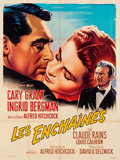 "Movie Posters:Hitchcock, Notorious (MGM, R-1958). French Grande (46"" X 62"").. ..."