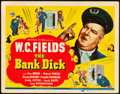 "Movie Posters:Comedy, The Bank Dick (Universal, 1940). Title Lobby Card (11"" X 14"").. ..."