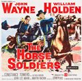 "Movie Posters:Western, The Horse Soldiers (United Artists, 1959). Six Sheet (80.5"" X80.75"").. ..."