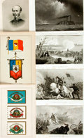 Books:Prints & Leaves, [Americana.] Group of Fifteen Illustrated Plates Related to theCivil War. [N.p., n.d.] Two color plates, rest black and whi...