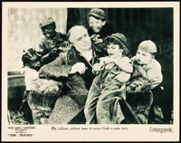 """Our Gang in Tire Trouble (Pathé, 1924). Lobby Card (11"""" X 14"""")"""