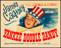 """Yankee Doodle Dandy (Warner Brothers, 1942). Title Lobby Card (11"""" X 14"""")"""