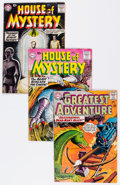 Silver Age (1956-1969):Horror, House of Mystery Group (DC, 1959-66) Condition: Average VG+....(Total: 31 Comic Books)
